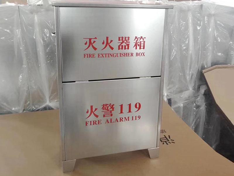 不锈钢消防箱产品展示