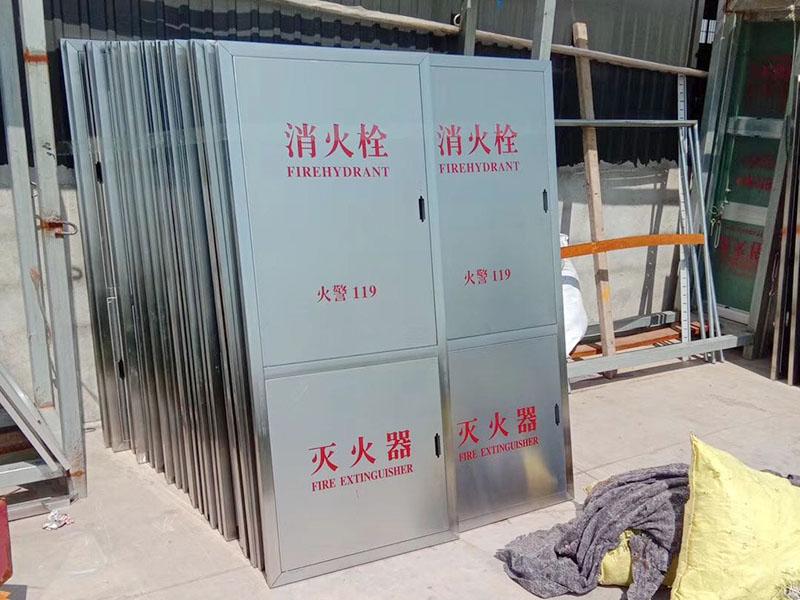 不锈钢消防箱工厂图片展示