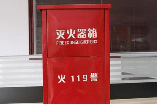 消防箱厂家教你火灾时选择消防器材的方法